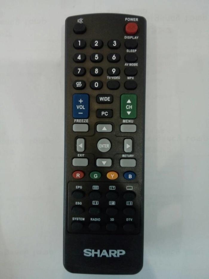 New Produk REMOT / REMOTE TV LCD / LED / PLASMA SHARP KW