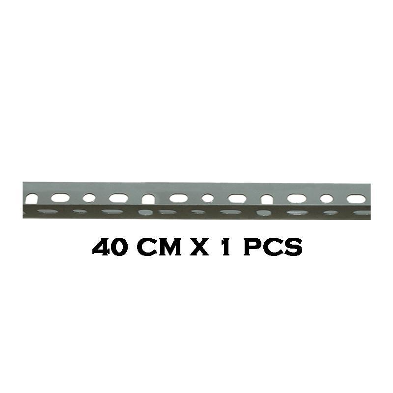 EELIC BER-1.2MM -40 CM Besi Siku Lubang Rak Serbaguna Tebal 1.2 MM cocok Dengan Panjang 40 CM