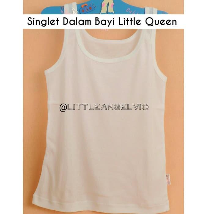 Kaos Dalam bayi singlet bayi XXL Little Queen