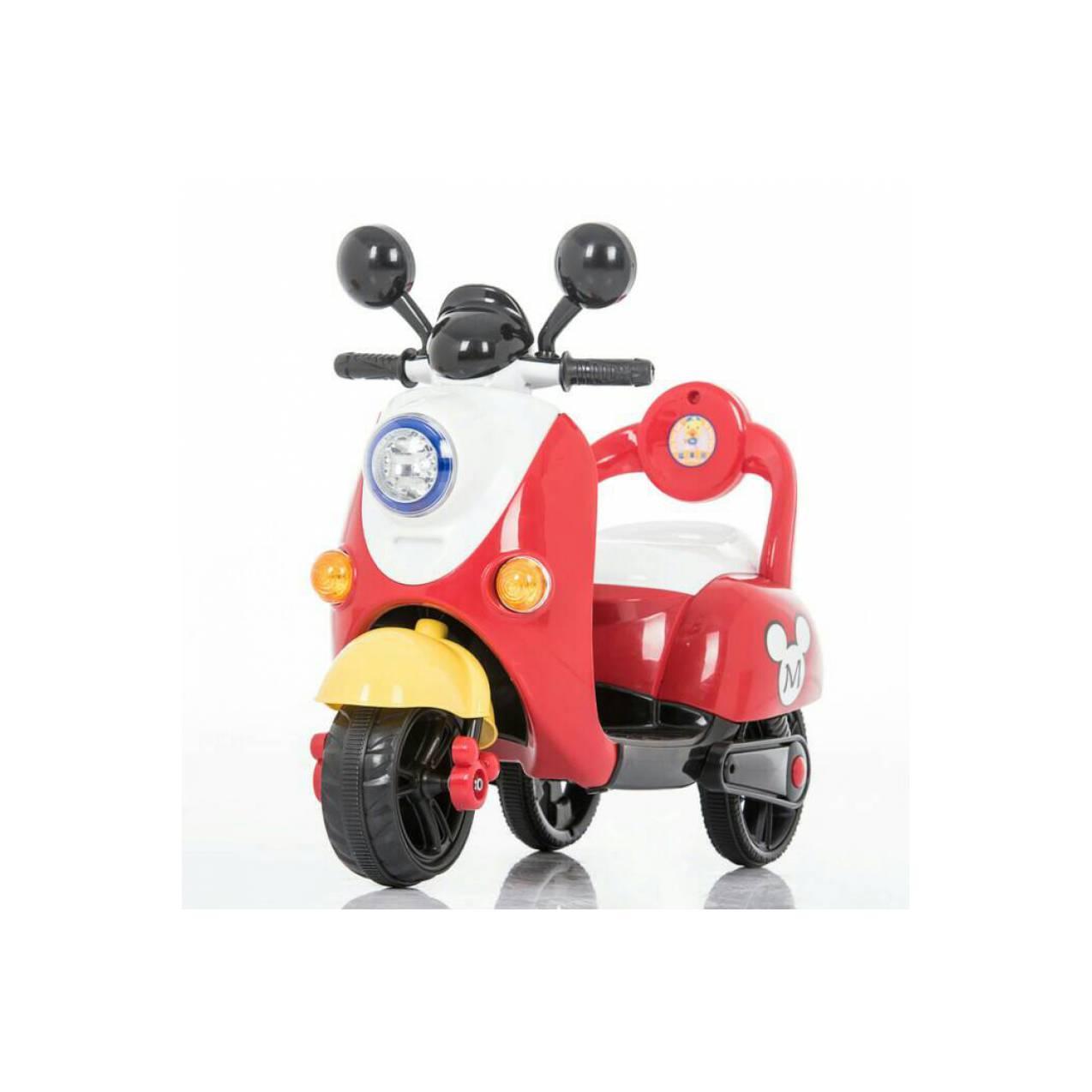 Info Harga Motor Scoopy Mainan Anak Terbaru Termurah November 2018 Pmb M338 Florry Battery Toy Motorcycle Aki Pliko Mickey