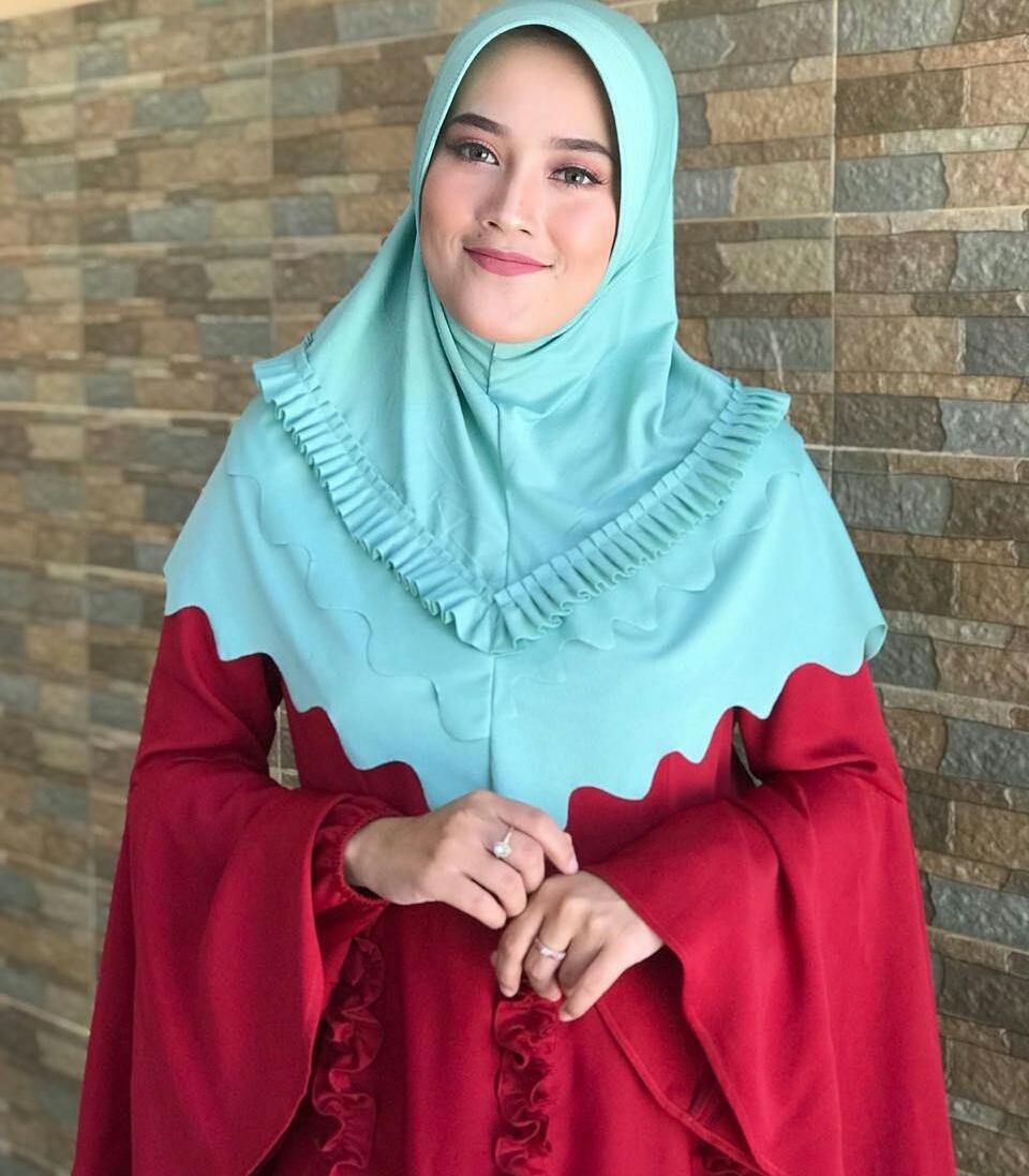 Buy Sell Cheapest Hwshijab Bergo Rempel Best Quality Product Deals Jilbab Licra Instan