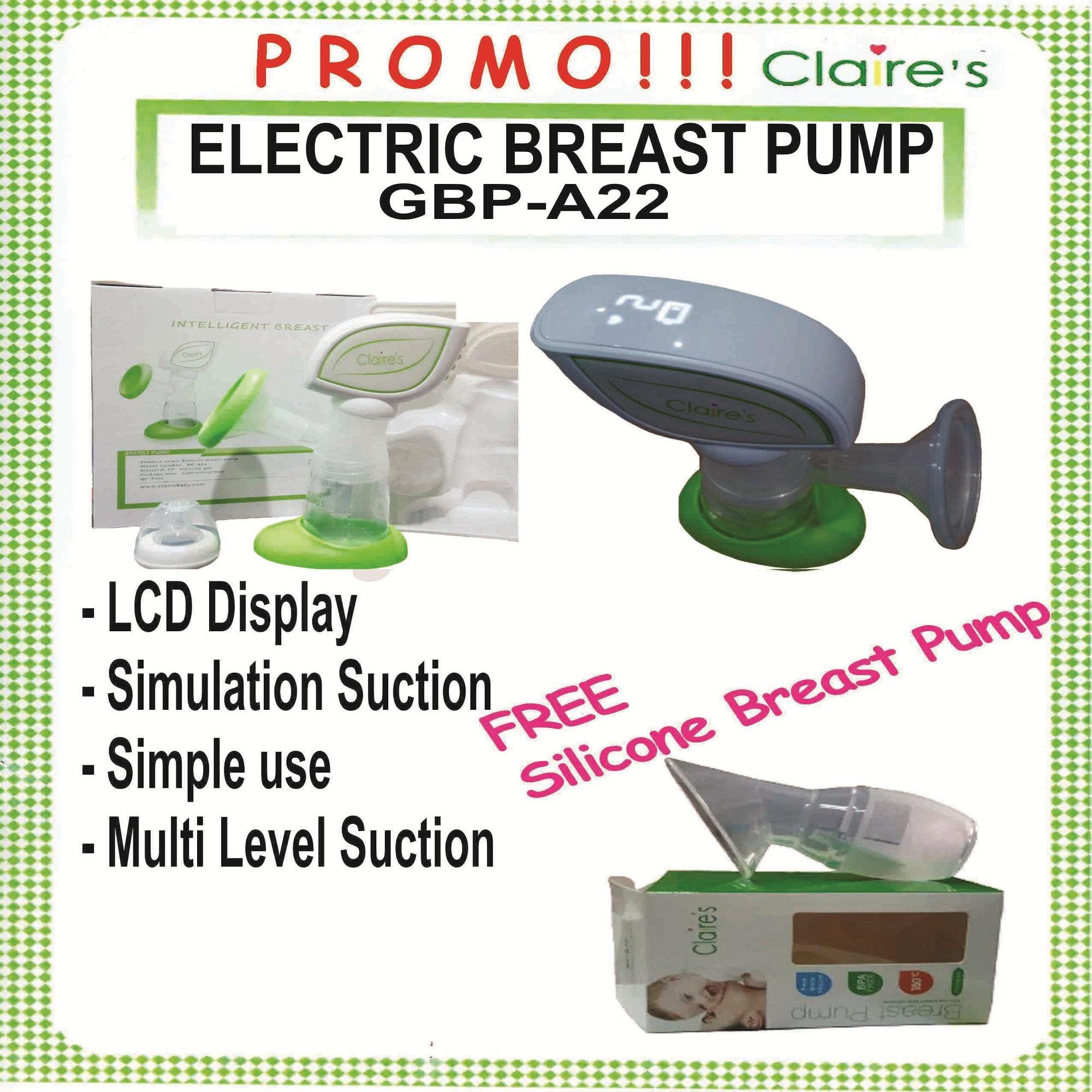 Promo Claire's Electric BreastPump GBP-B22 Bonus Silicon S10