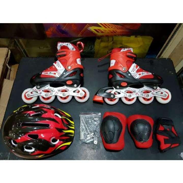 Fullset Helm+dekker, Sepatu Roda Anak Murah Berkualitas By Azalio Store.