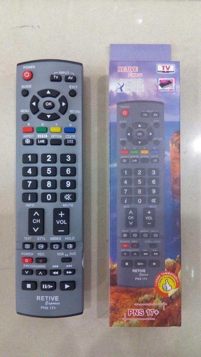 New Produk REMOT/REMOTE TV PANASONIC LCD/LED/PLASMA MULTI/UNIVERSAL NS