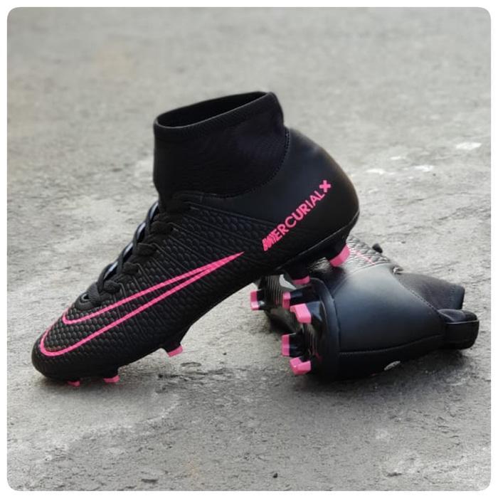 Sepatu Nike Bole mercurial Cr7 hypervenom scoccer bola pria