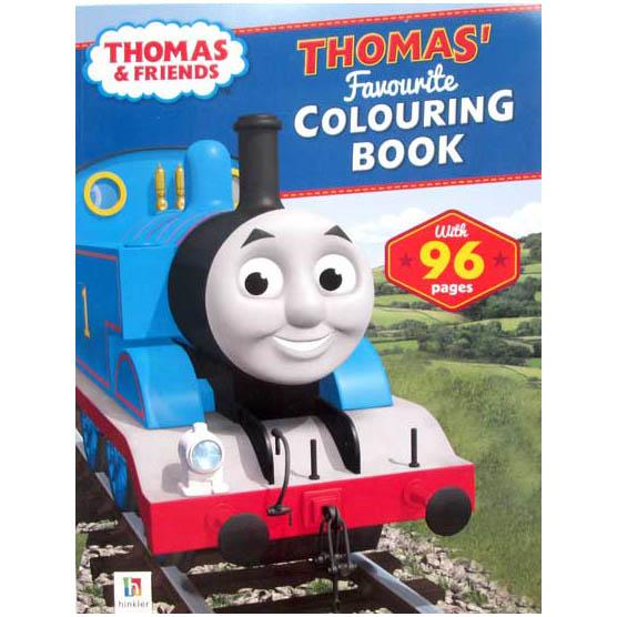 Terlaris Buku Cerita Anak Thomas and Friends Thomas Favourite Colouring Book with 96 pages Buku Dongeng Bergambar
