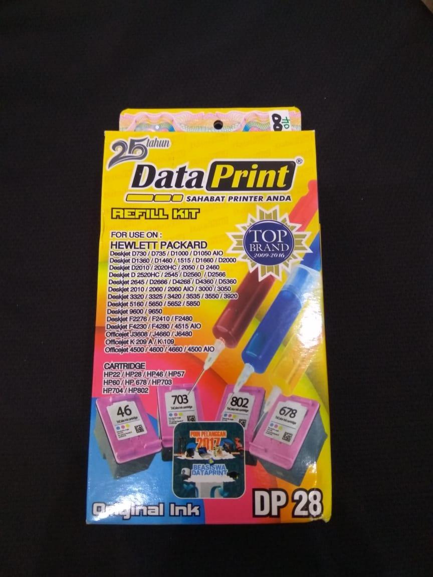 Katalog Tinta Untuk Printer Hp 2018 Refill Infuse System Epson Brother Canon Merk Dataprint Cartridge Warna
