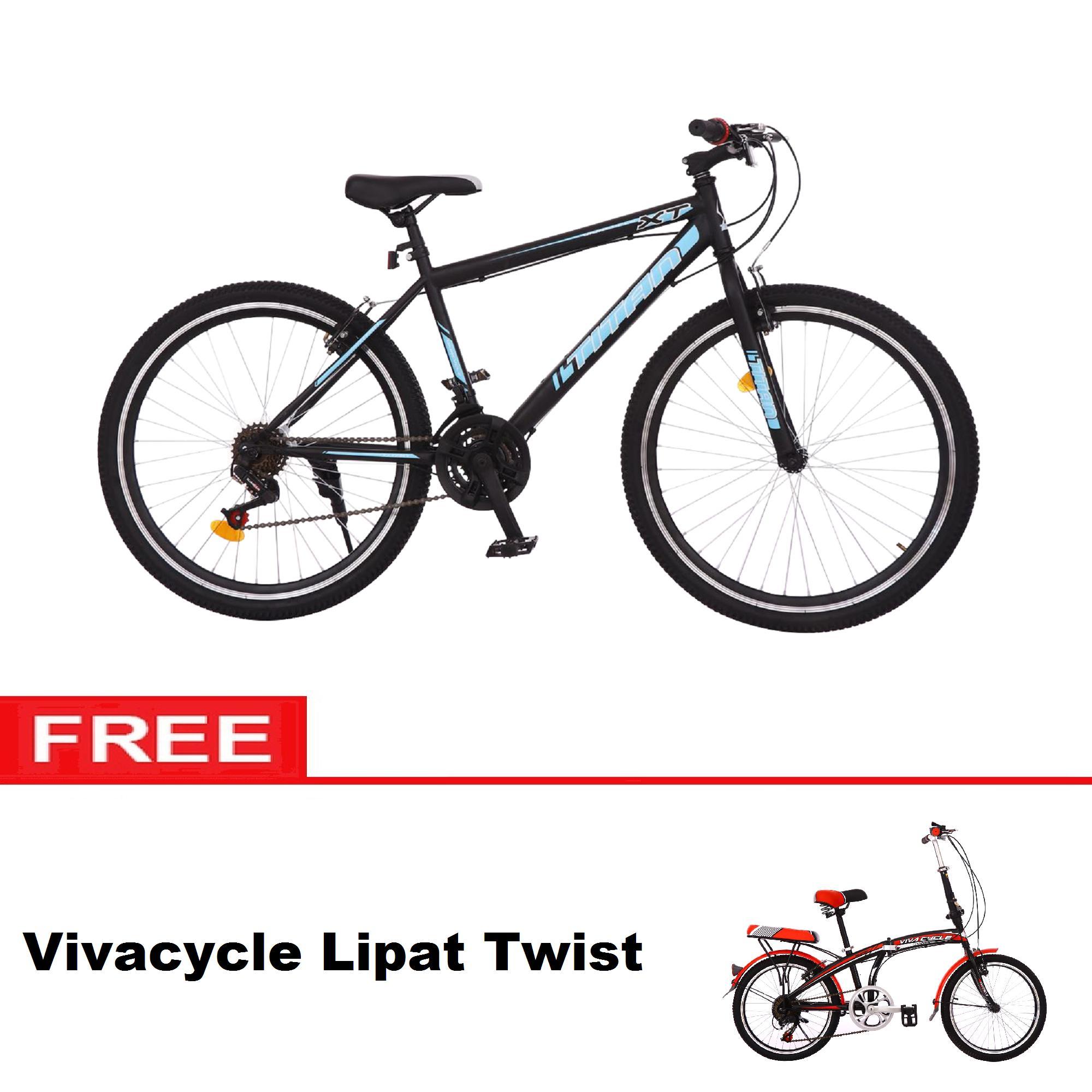 Free Ongkir Paket Hemat Sepeda MTB Viva Cycle Titan 26