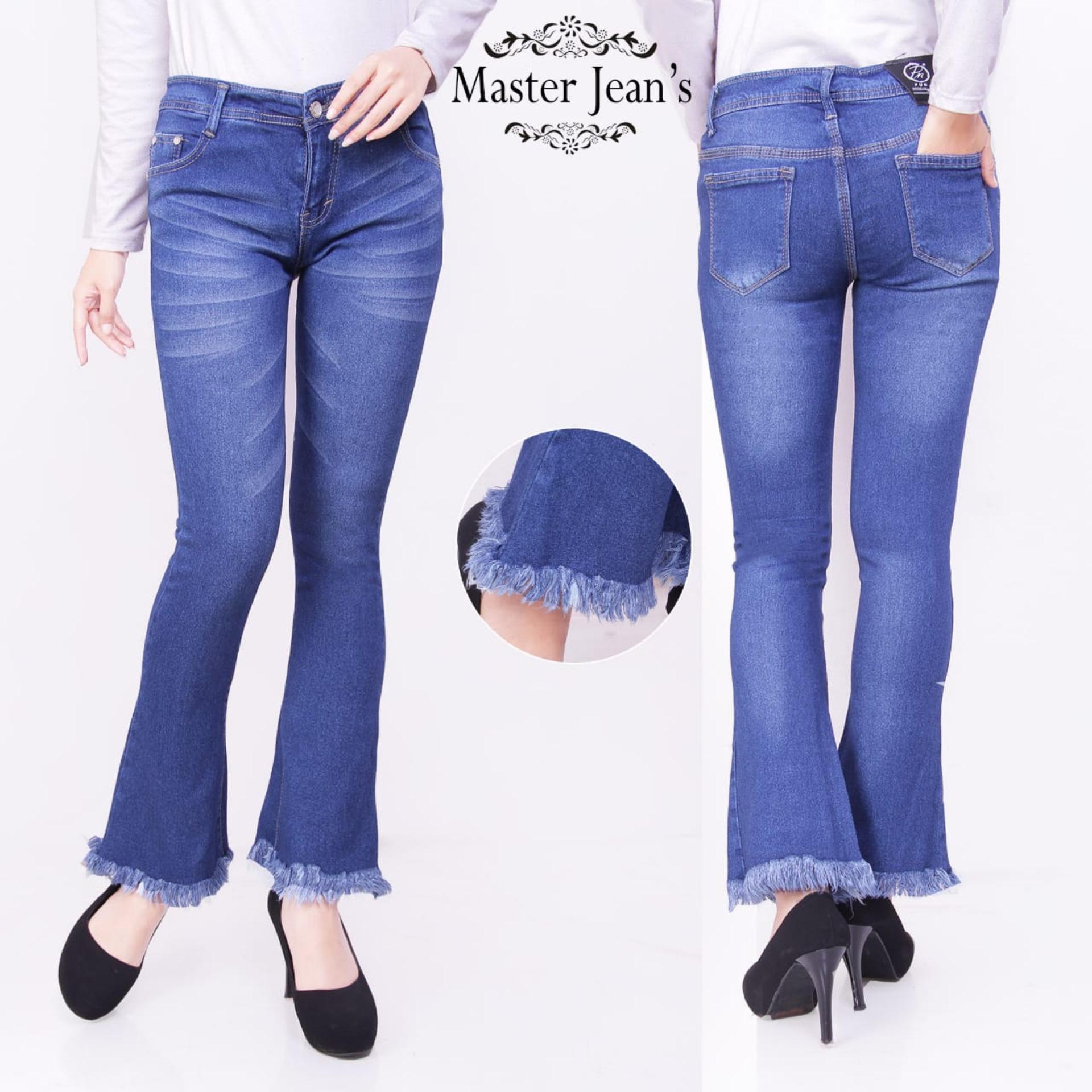 master jeans celana wanita cutbray rawis