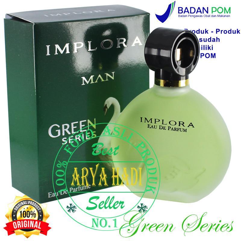 Parfum Implora MAN GREEN SERIES 307 100ml Resmi BPOM / Original BPOM Tahan Lama
