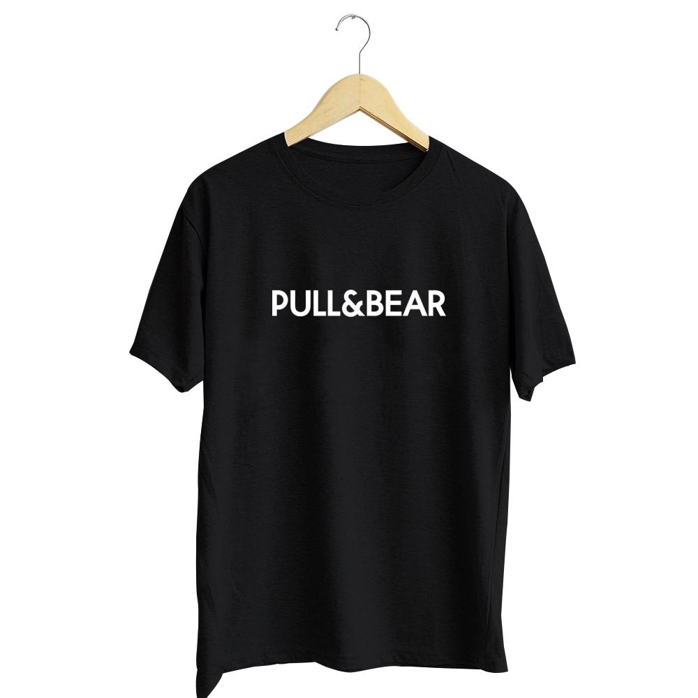 kaos distro pull&bear cotton combed 30s