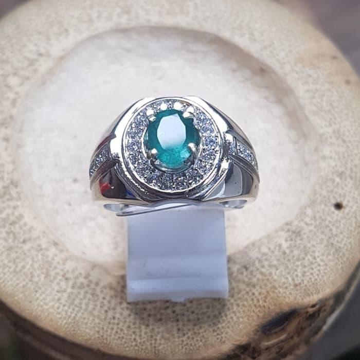 Diskon Promo Cincin Natural Zamrud Emerald Beryl Like Colombia Mewah By Natural Gemshop.