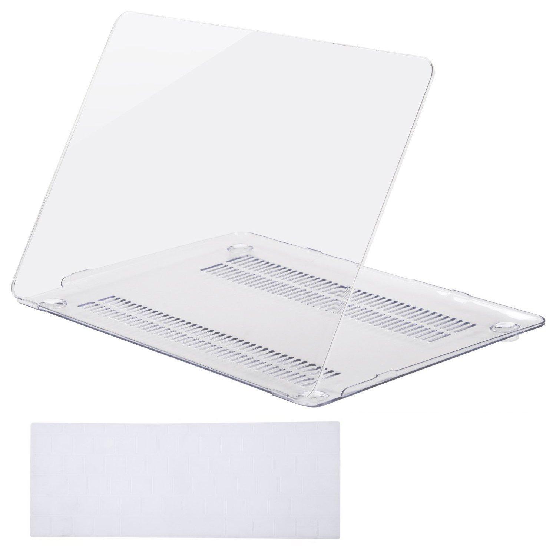 Macbook Pro 13 Inch Case Transparan Plastik Keras Beku Sarung Pelindung Bundle untuk Apple MacBook Pro 13 Inch A1278 Berisi Penutup Papan Ketik