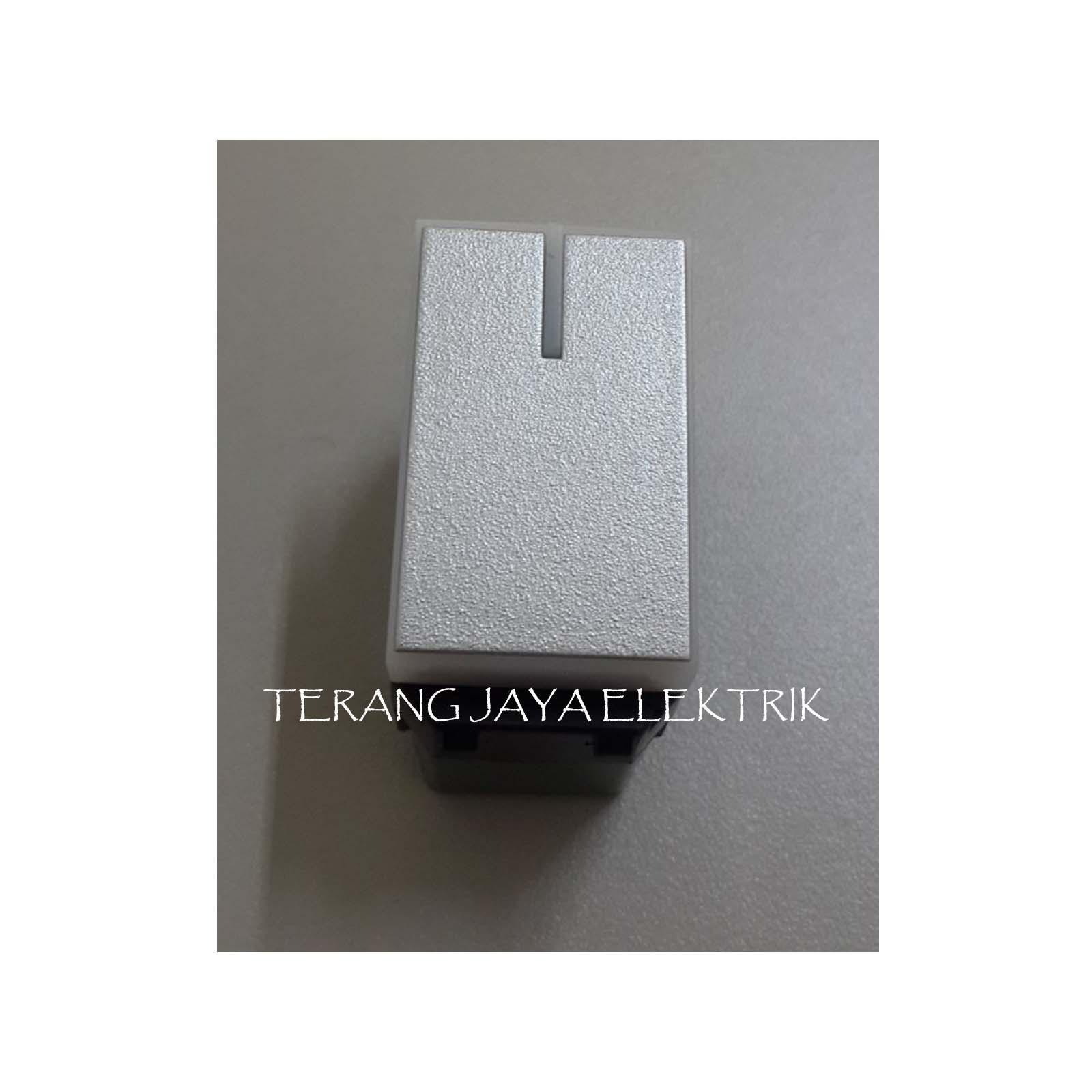 Mata Saklar Iluminasi - Lampu Silver Style E WESJ5571MWS Panasonic