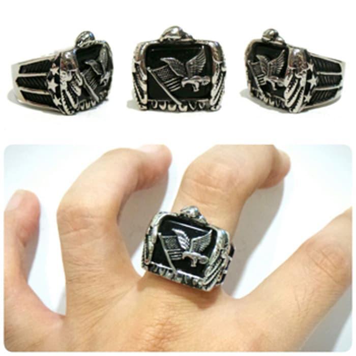 NEW PROMO ring character cincin character cincin Harley ring titanium