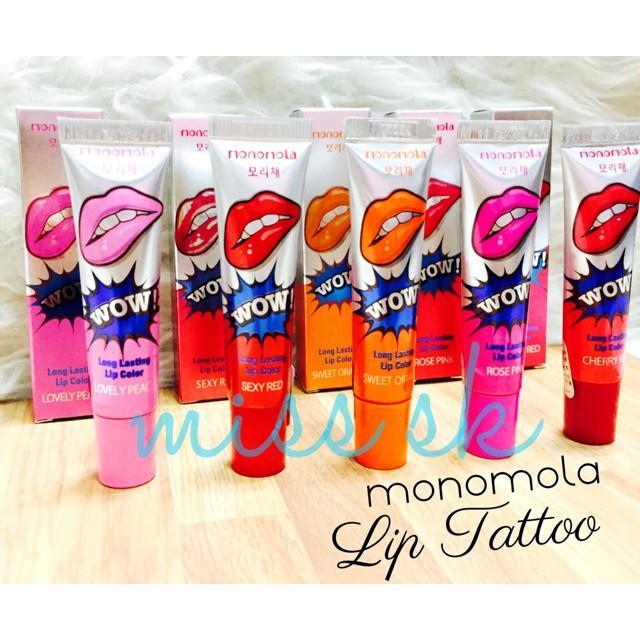 Lips Tattoo WOW MONOMOLA KOREA / Tato Bibir / Lip Tatto