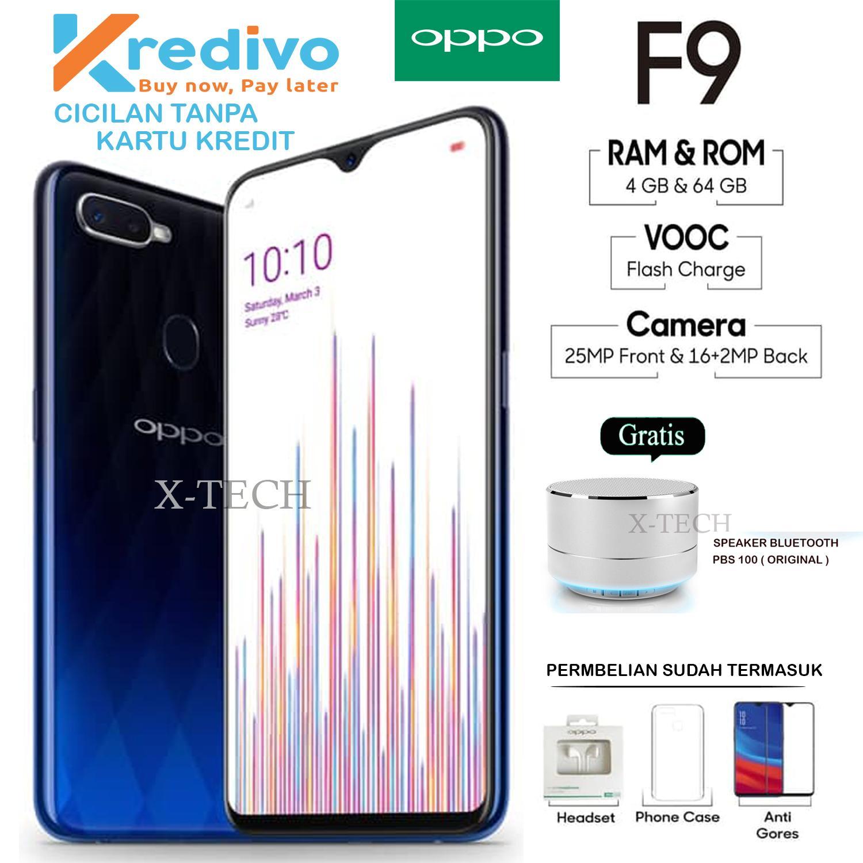 OPPO F9 - 4GB/64GB - GARANSI RESMI