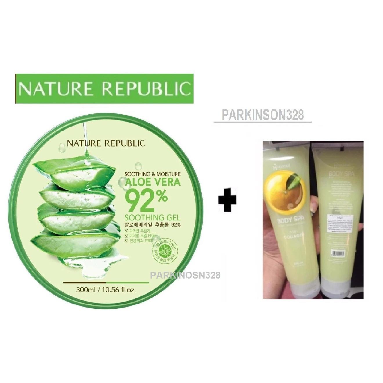Buy Sell Cheapest Aloe Vera Spa Best Quality Product Deals Body Scrub Peeling Gel Shop Perontok Daki Bodyspa Nature Republic Original Korea Soothing Moisture 92 300ml