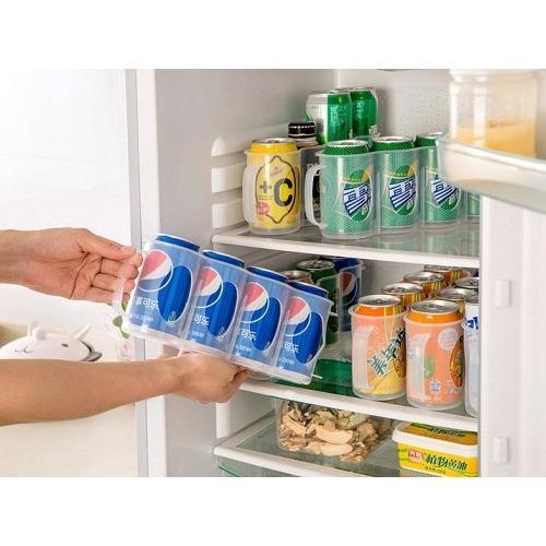 Serba Grosir Murah Rak Minuman Botol Kaleng Kulkas Organizer Kitchen Storage Box Holder