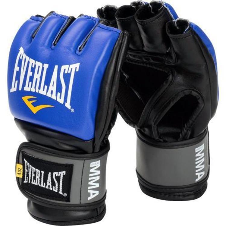 Everlast Sarung Tinju MMA Gloves Boxing Muay Thai Glove Setengah Jari