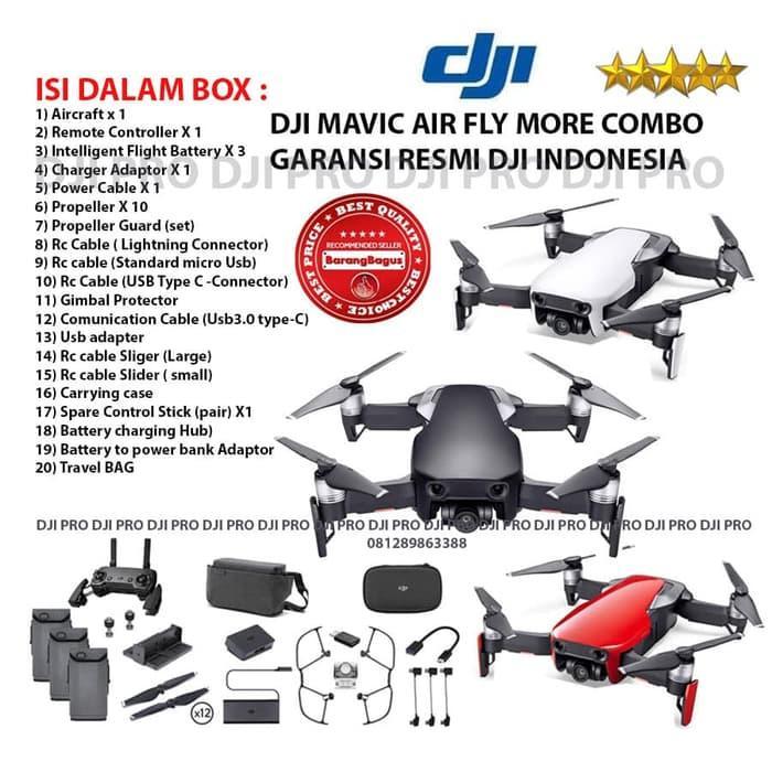 PALING DICARI DJI Mavic Air Fly More Combo - Drone Mavic GARANSI RESMI DJI INDONESIA