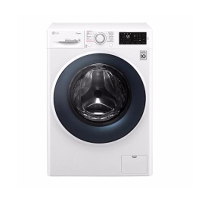 LG FC1450S2W Mesin Cuci Front Loading [10.5 Kg Wash/Inverter/MotionDD]