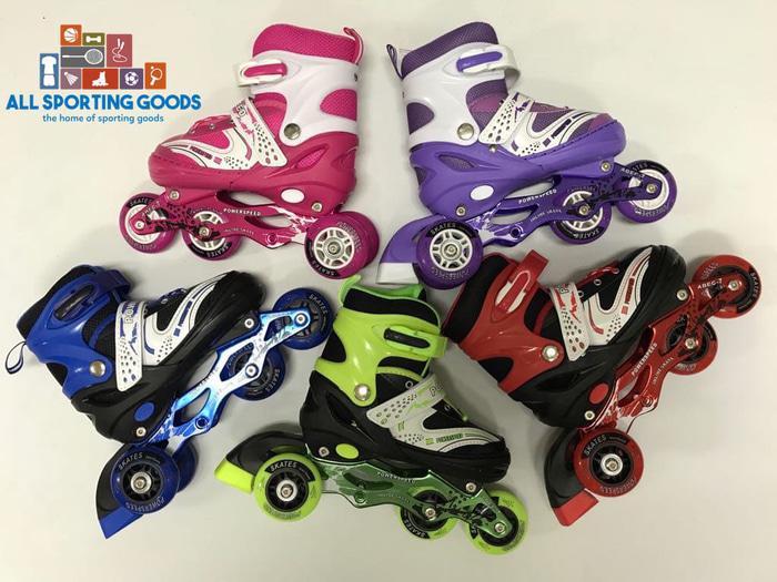 BEST SELLER!!! Sepatu Roda Anak Murah Inline Skate Chrome Promo Murah Import - O3DI6o