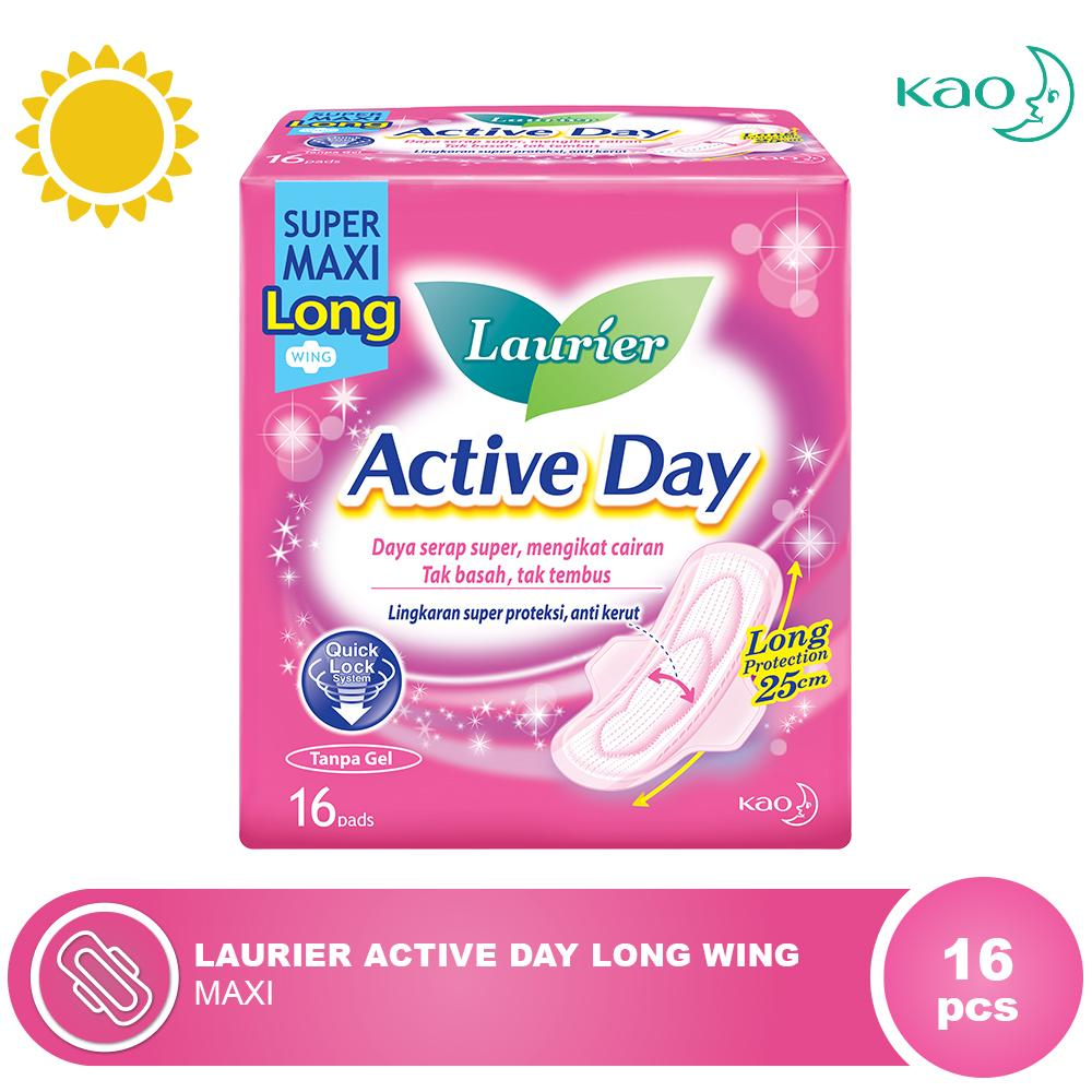 LAURIER Active Day Long Wing 16s