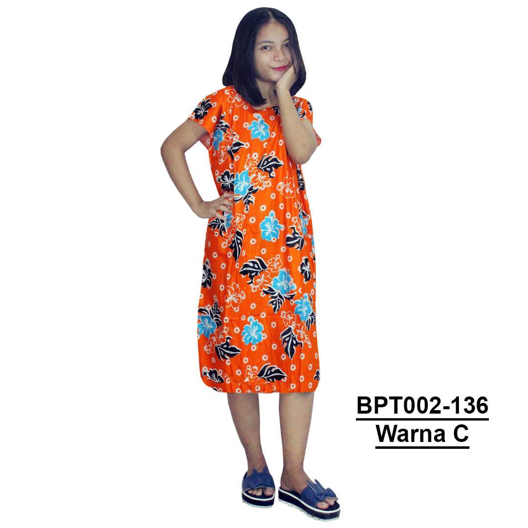 Midi, Daster Midi, Dress Santai, Baju Tidur, Piyama, Atasan Batik (BPT002-136) Batikalhadi Online