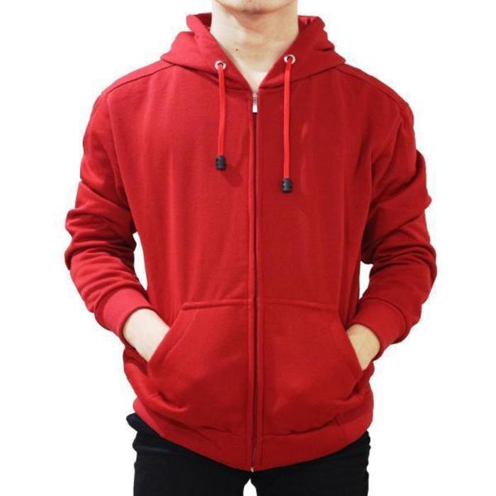 DISKON JAKET Polos Big Size M L XXL XXXL XXXXL XXXXXL Super Premium Fleece TERMURAH