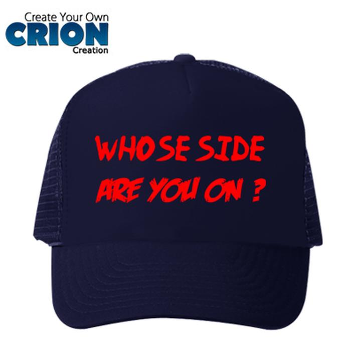 Topi Captain America Civil War - Whose Side Are You On ? - By Crion - ready stock