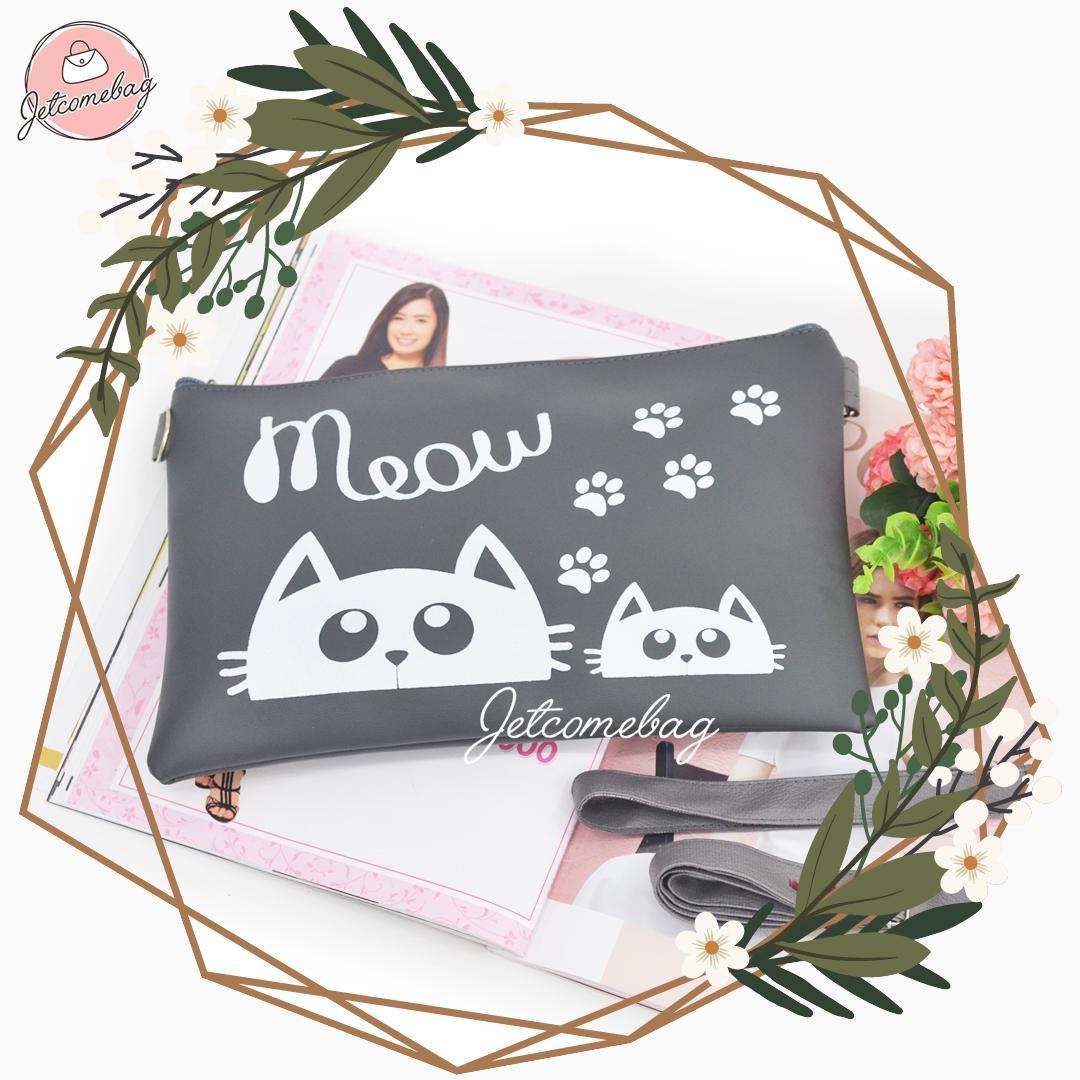 ... Tas Wanita Cat Doll Meow Clutchbag Terbaru TASFASHION ID