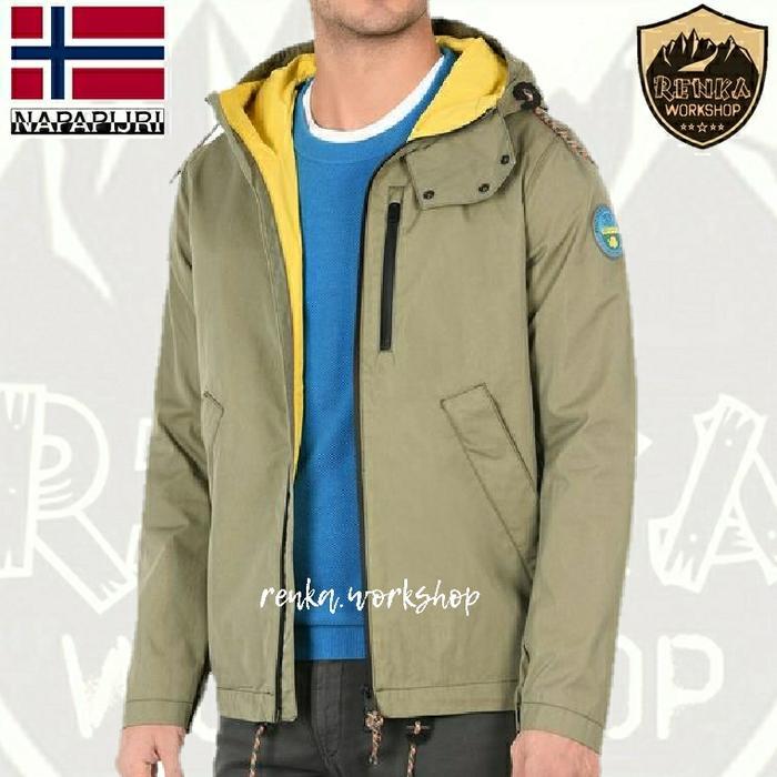 Napapijri Alpa Jacket - Size L EU Khaki