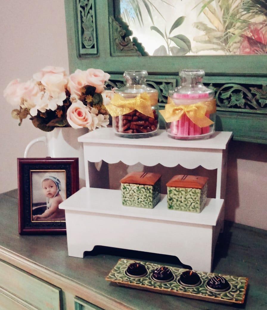 Jual Produk The Olive House Terbaru Di Lemari Jasmine 9 Susun Mahogany Shabby Rak Tangga