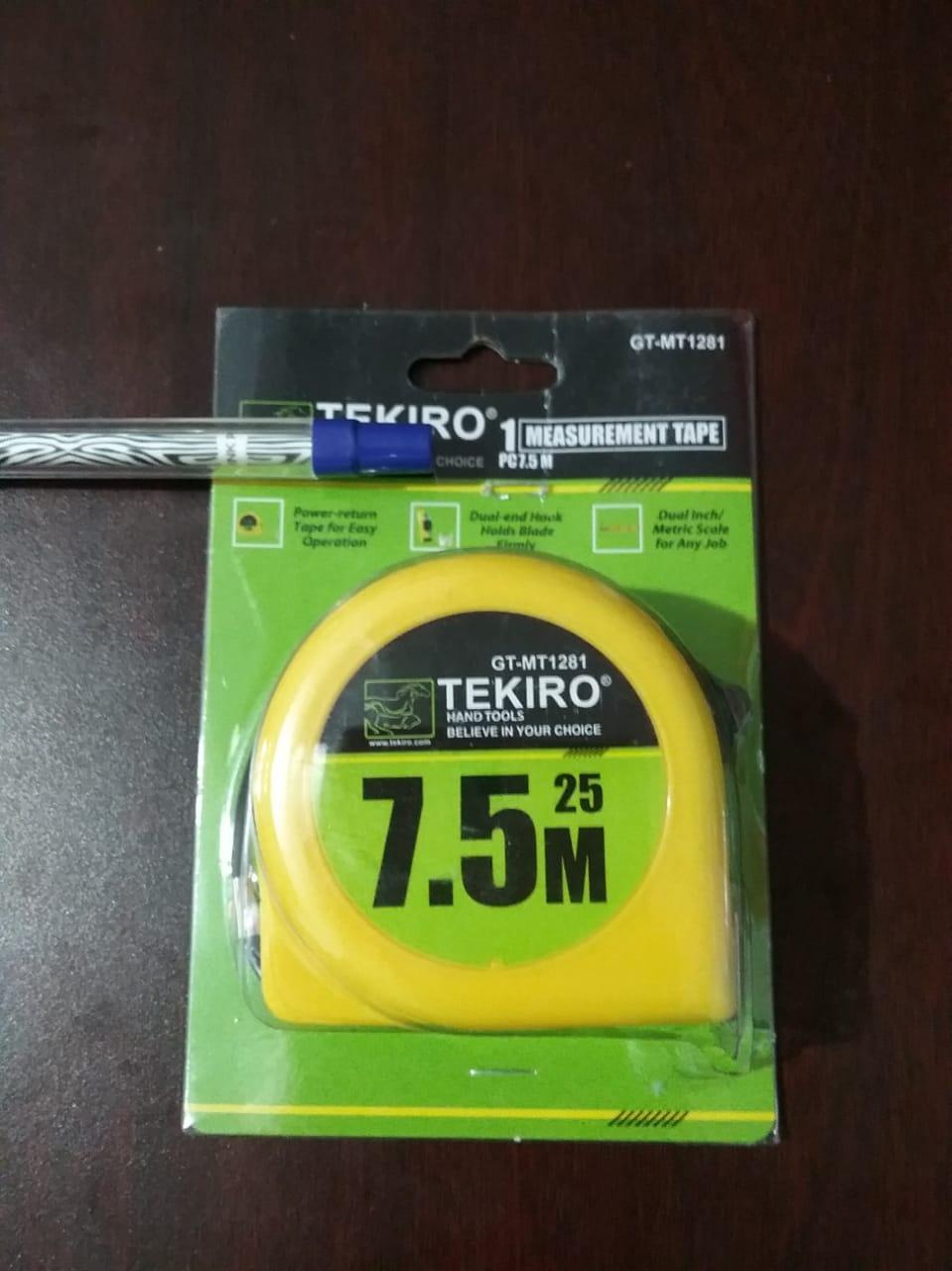 Tekiro Measurement Tape 7.5M