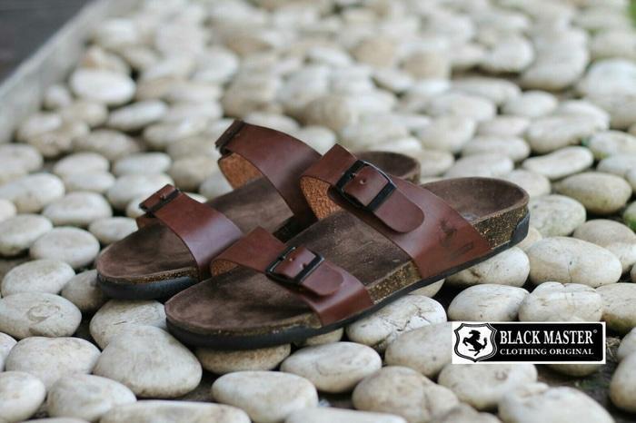 Harga Promo!!! Free Bonus !! Sandal Berkualitas Black Master Original Terkini - ready stock