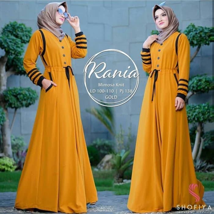 Rania #2 Maxi Dress Gamis Gaun Balotelli - Fashion Wanita Keren - Fashion Wanita Elegan - Fashion Wanita Murah