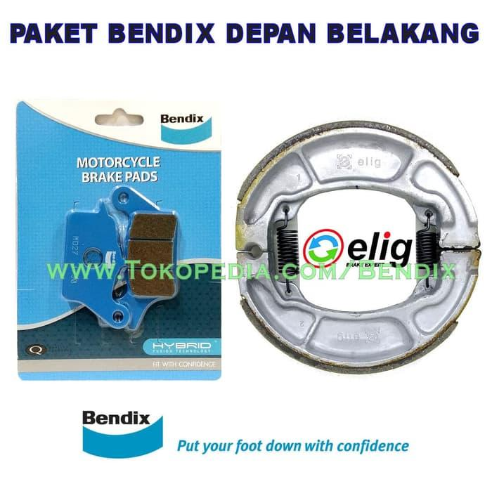 PROMO Paket Bendix Honda Vario 125 ESP Depan Belakang TERBARU