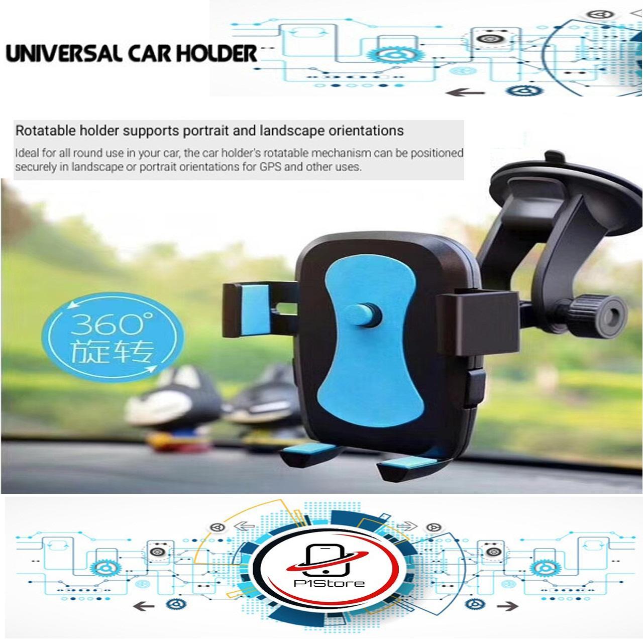 Car Phone Holder Long / Holder Dashboard Mobil (6inch) / Holder Phone Mobile Tatakan