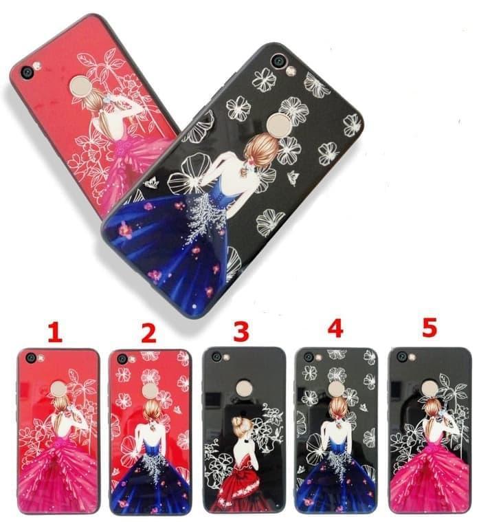 Fuze Softcase Glass Wedding Dress Xiaomi Redmi Note 4X