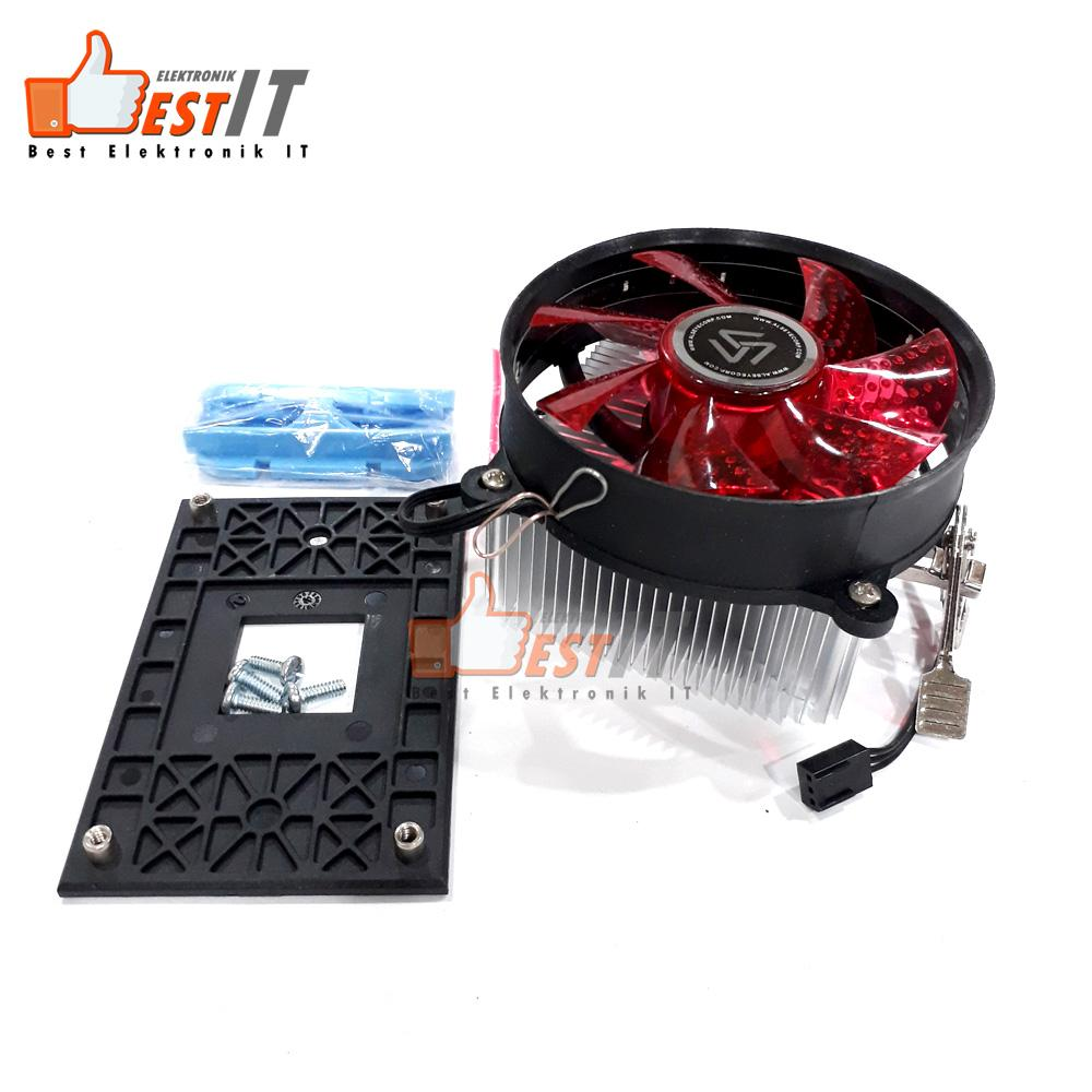 Fan Prosesor / Kipas Processor Gaming LED AMD Eddy A12