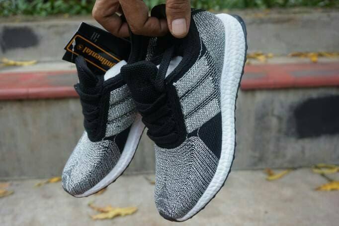 sepatu running Adidas ultra boost 3 chaussurres hitam silver premium - Hitam, 36 - 7bR5cL