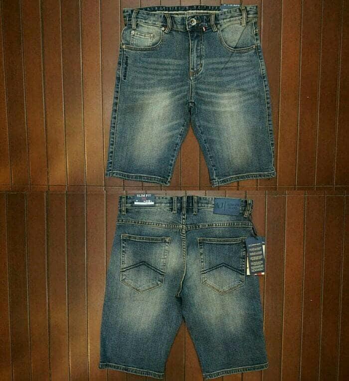 Promo Terbatas!! Celana Pendek Armani Jeans - ready stock