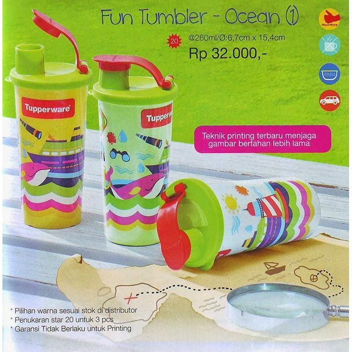 Tupperware Fun Tumbler Ocean - Y0osqc