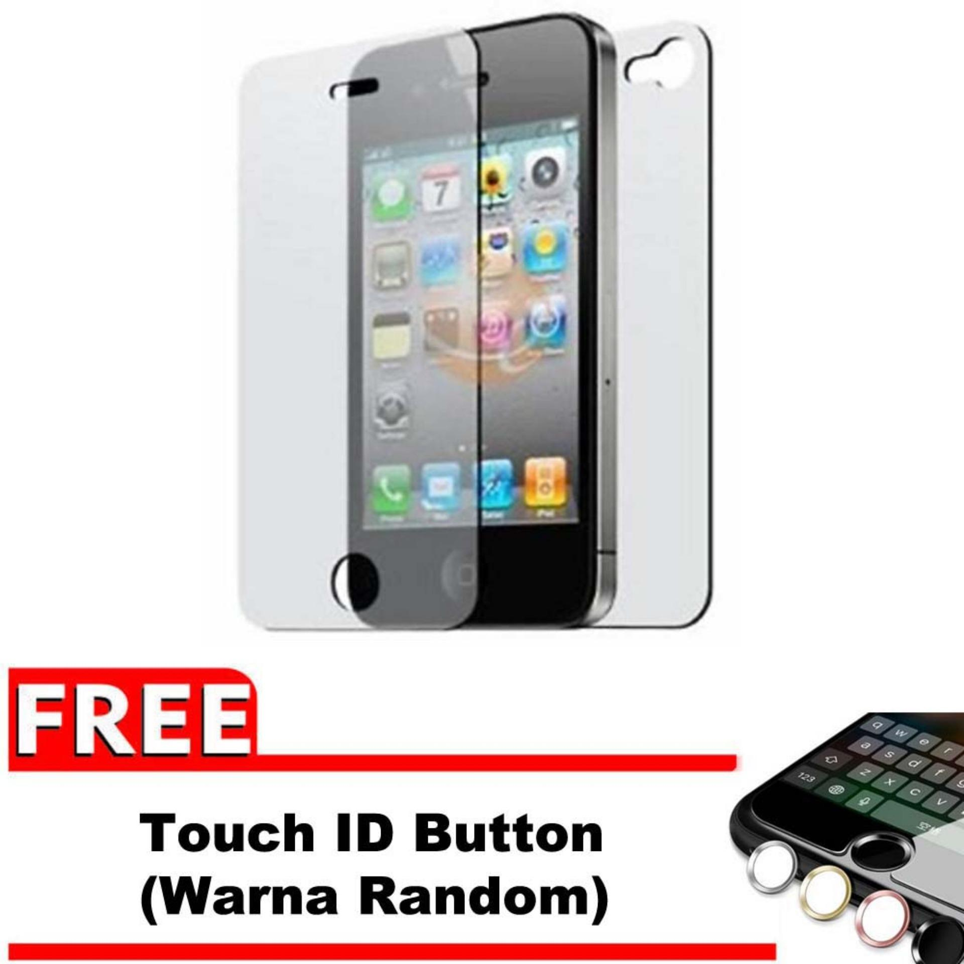 Rp 31.900. Vn Apple iPhone 4 / 4S / 4G Tempered Glass 9H Screen Protector ...