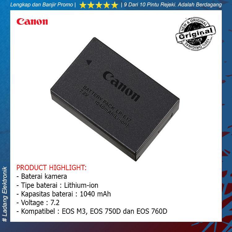 Canon Original LP-E17 Battery for 750D / 760D / EOS M3