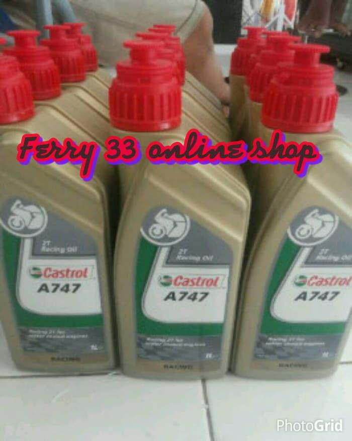 Ready Stock - OLI SAMPING RACING CASTROL 747 - ready stock