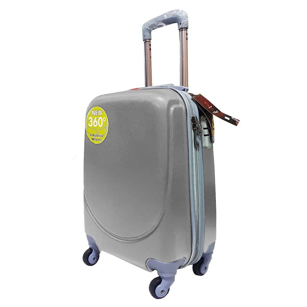 Tas Koper Kabin Hardcase Polo Hoby Luggage 18 Inch C011-18 Anti Theft Original