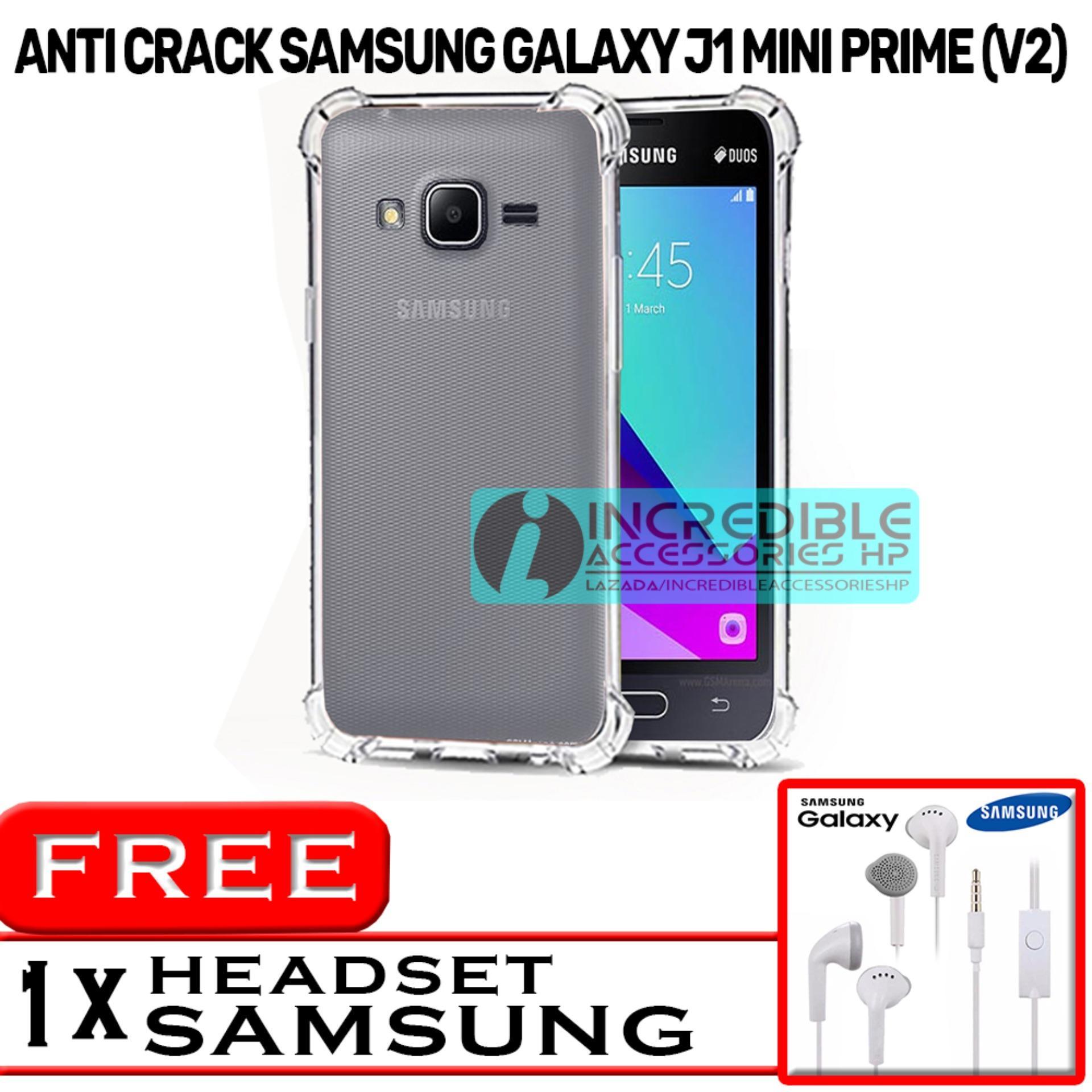 PROMO  Case Anti Shock / Anti Crack Elegant Softcase  for Samsung Galaxy V2 (J1 Mini Prime) - White