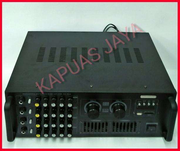 Original Power Amplifier Mixer Karaoke SANSUI KA-303A Equalizer